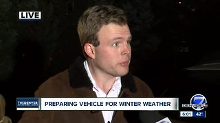 Preparing vehicle for winter weather