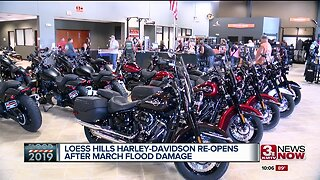 Harley Davidson store in Pacific Junction reopens