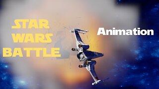 Star Wars Battle animation.