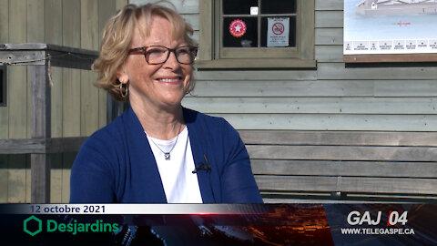 Élection municipale : Aline Perry