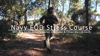 Fittest Man on Earth Runs EOD Stress Course