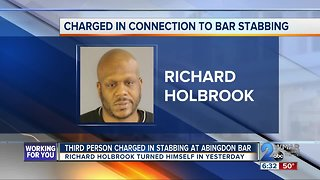 Third Person Charged in Stabbing at Bushmill Tavern