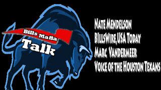 Bills Mafia Talk, September 29, 2021, Nate Mendelson, Marc Vandermeer
