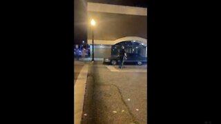 Police make arrests during North Carolina protest