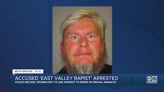 Accused 'East Valley Rapist' arrested
