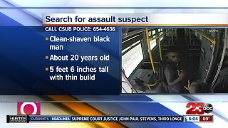 CSUB Officials: Golden Empire Transit bus driver sexually assaulted by passenger