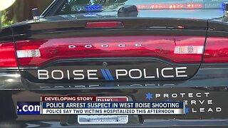 Suspect in Boise shooting taken into custody