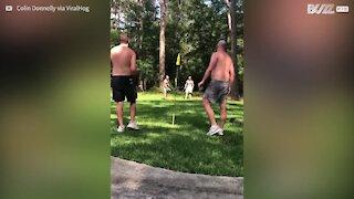 Attraper un frisbee n'a jamais été aussi difficile!