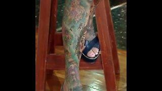 La abuelita más tatuada del mundo   Sabías que...