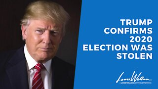 Trump Confirms 2020 Election WAS Stolen | Lance Wallnau
