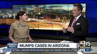 Maricopa County Department of Public Health answers questions about mumps outbreak