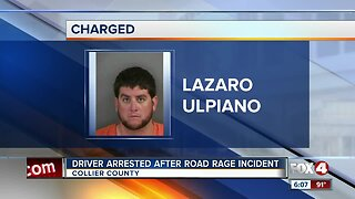 Man charged after road rage incident in Collier County