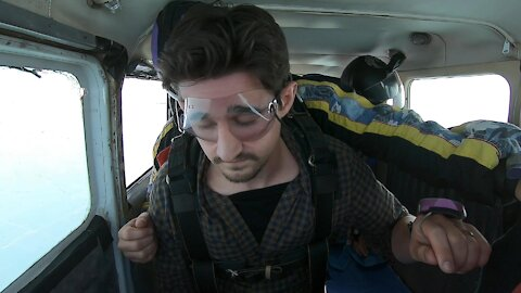 Sleepiest Man to Ever Go Skydiving