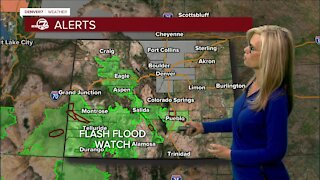 More storms for Sunday with smoke returning to Colorado