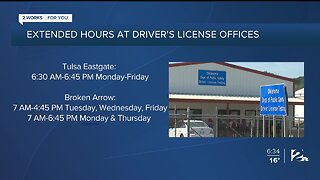 Extended Hours At Driver's License Offices