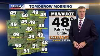 Dense fog advisory continues into Tues. morning