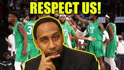 Nigerian Basketball Team SLAMS ESPN's Stephen A Smith for BLATANTLY BUTCHERING their names!