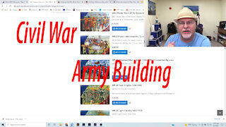 Civil War Army Building Session