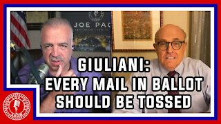 More Proof of Voter Fraud? Okay! Rudy Giuliani Makes the Case