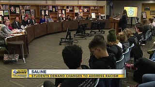 Students demand changes to address racism