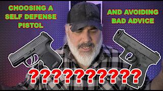 Choosing A Self Defense Pistol