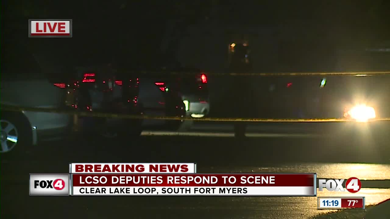 Lee County Sheriffs respond to shooting in Fort Myers
