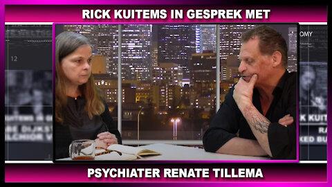 Rick Kuitems in gesprek met Renate Tillema, Psychiater, over schade van de Coronamaatregelen