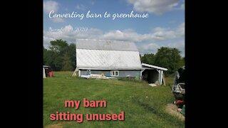 Barn to Greenhouse