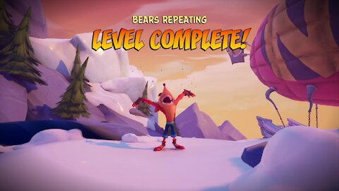 Crash Bandicoot 4: How to get the gem for all boxes in 'Bears Repeating' level