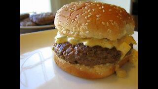 The Flamin' Mamie Burger