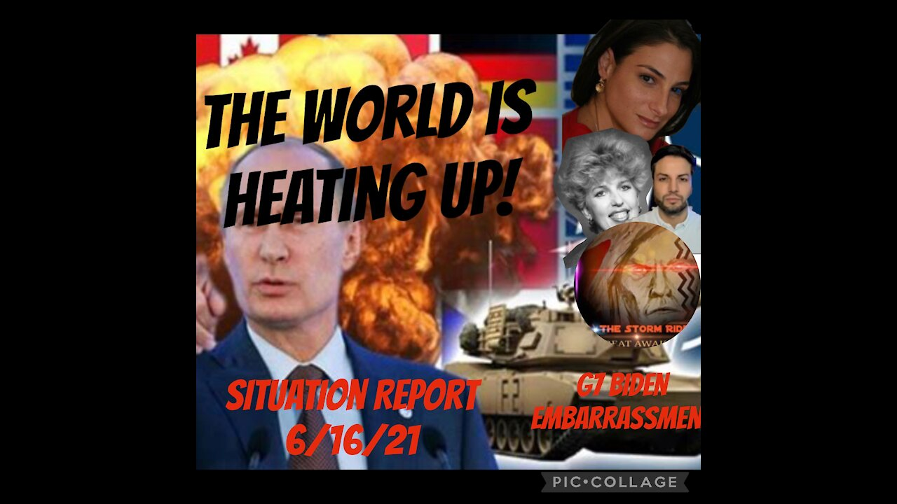 Situation Update: The World Is Heating Up! - Must Video