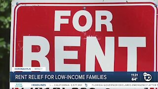 San Diego leaders push rent relief program for low-income families