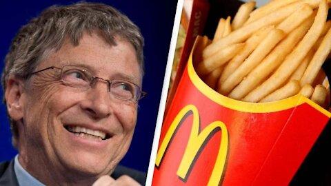 Hasta las PAPAS FRITAS de McDonald's son AHORA de Bill Gates