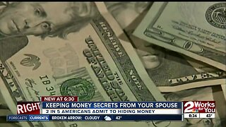 Are you hiding money secrets? Keeping money secrets from your spouse