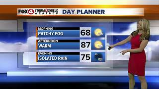 FORECAST: Warm and Humid Through the Weekend