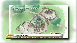 Volunteers needed to build new playground set in Hazel Park