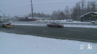 Icy road conditions expected in Carroll County heading into Tuesday