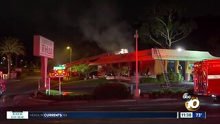 Family vows to rebuild after fire damages Del Mar restaurant