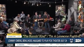 Johnny Owens, Ben and Noel Haggard to play Fox Theater in July