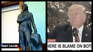 FLASHBACK: Trump Was Right About Statue Destroyers Coming For Thomas Jefferson