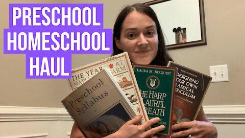 Preschool Homeschooling Curriculum Haul | MODG and Mater Amabilis