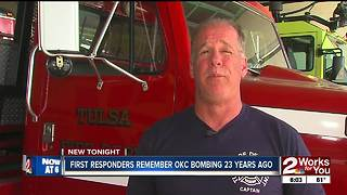 First responders remember OKC bombing 23 years ago