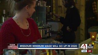 Missouri minimum wage set to increase in 2020