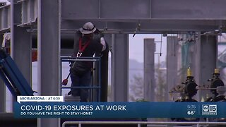 Workers concerned about potential COVID-19 exposure on the job