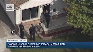 Woman and child found dead in Warren