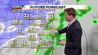 Mild Friday before messy winter weekend