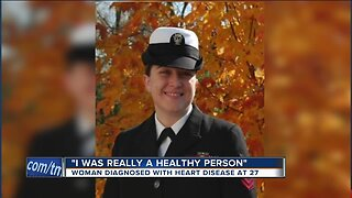 'I was really a healthy person:' Woman diagnosed with heart disease at 27