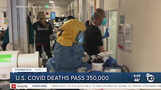 US COVID-19 deaths pass 350,000