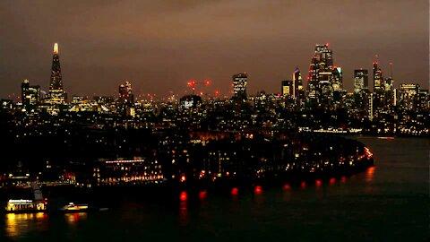 From Sunset Till First Light London Timelapse