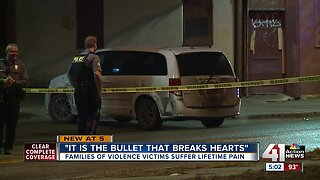 Families of violence victims suffer lifetime pain